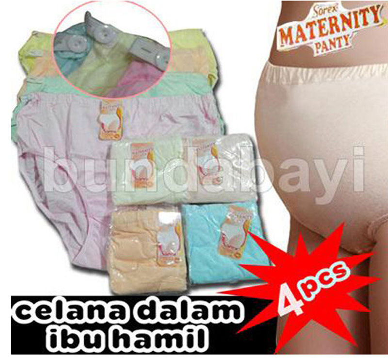 CDS401- Sorex CD hamil 4-6 bulan Set 4 pcs