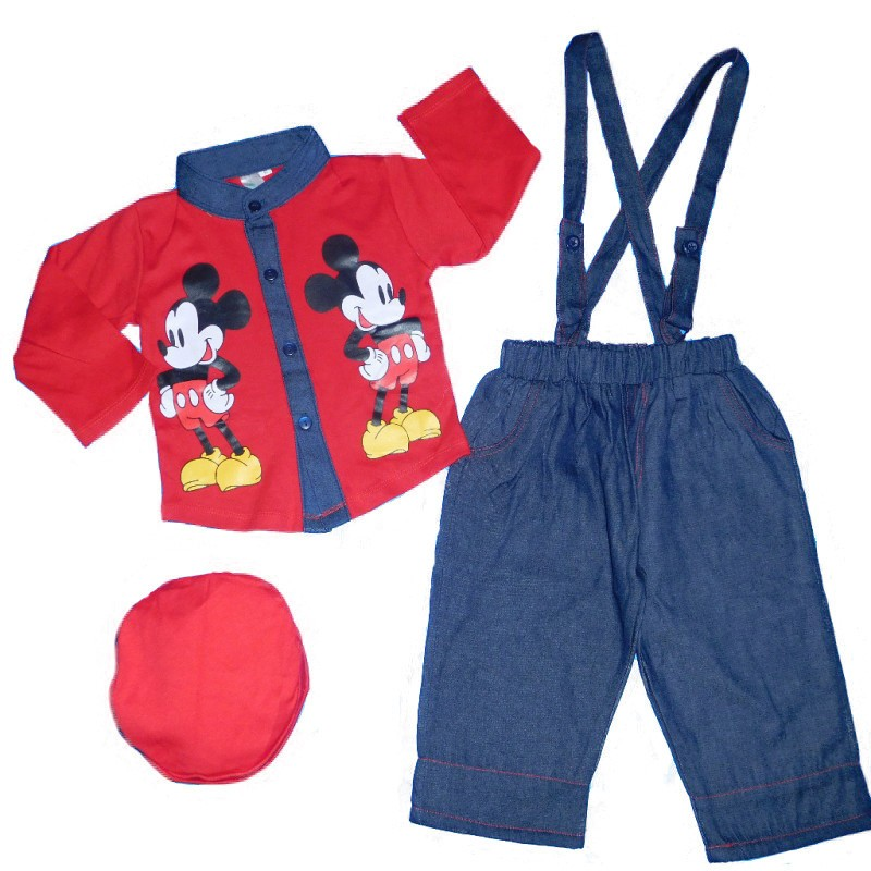 BML554 - stelan koko model tali semi levis motif mickey mouse (AVAILABLE 3 SIZE & COLOR)