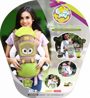 BJG3024-Gendongan Hipseat 4 in 1 Mochino Series Merk Baby Joy