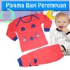 PYP445  - Stelan piyama motif sweety cat (AVAILABLE 3 SIZE & COLOR)